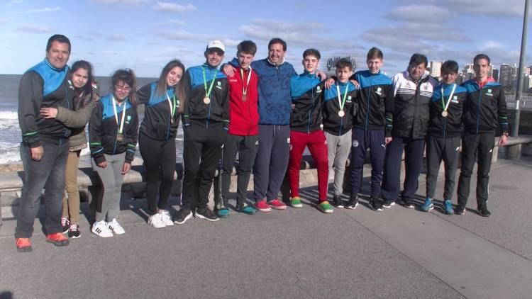 Cañuelas cosechó cinco medallas en Mar del Plata