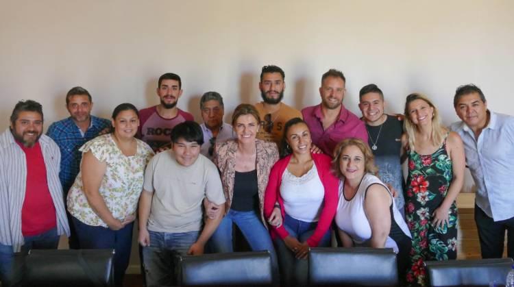 Marisa Fassi estuvo con los ganadores del pre Cosquín 2020 sede Cañuelas