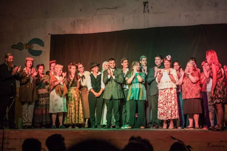 Noche de teatro en el Instituto Cultural Cañuelas