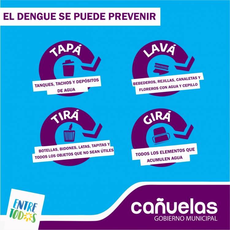 Campaña municipal contra el dengue