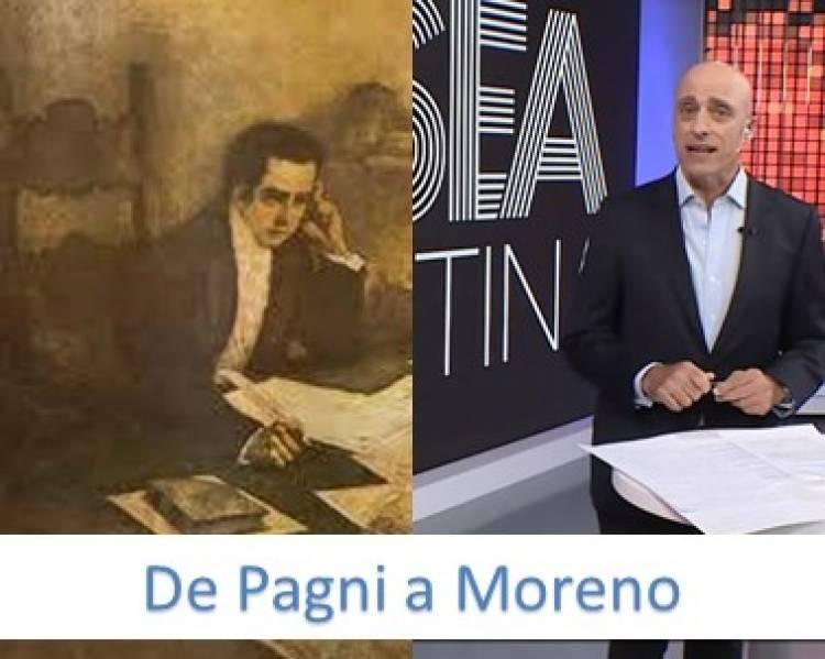 De Pagni a Moreno en camino inverso