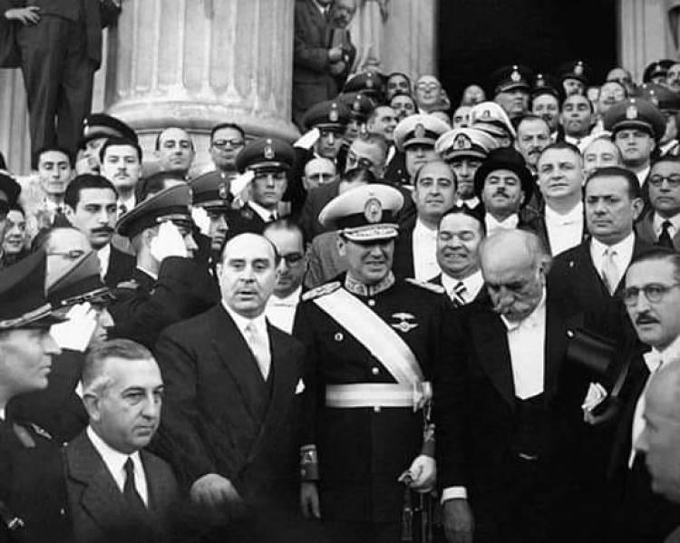 4 de junio de 1946, Juan Domingo Perón preside la Nación