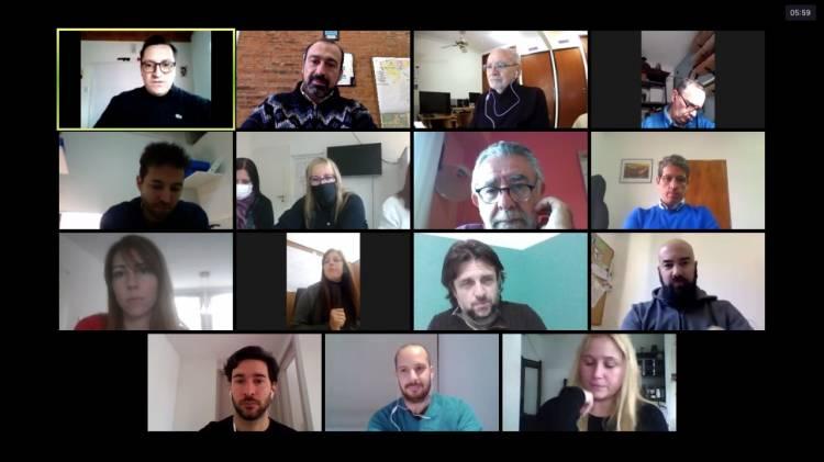 Encuentro virtual de secretarías de producción
