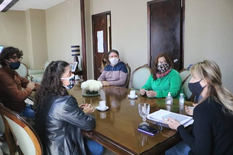 El Municipio recibió a funcionarios de la Secretaría de Desarrollo de Nación