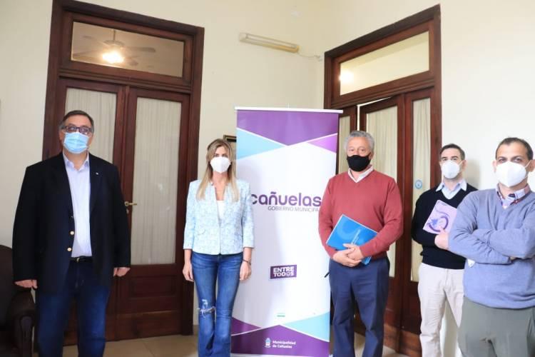 Mercado Agroganadero: reunión de trabajo con Vialidad Provincial