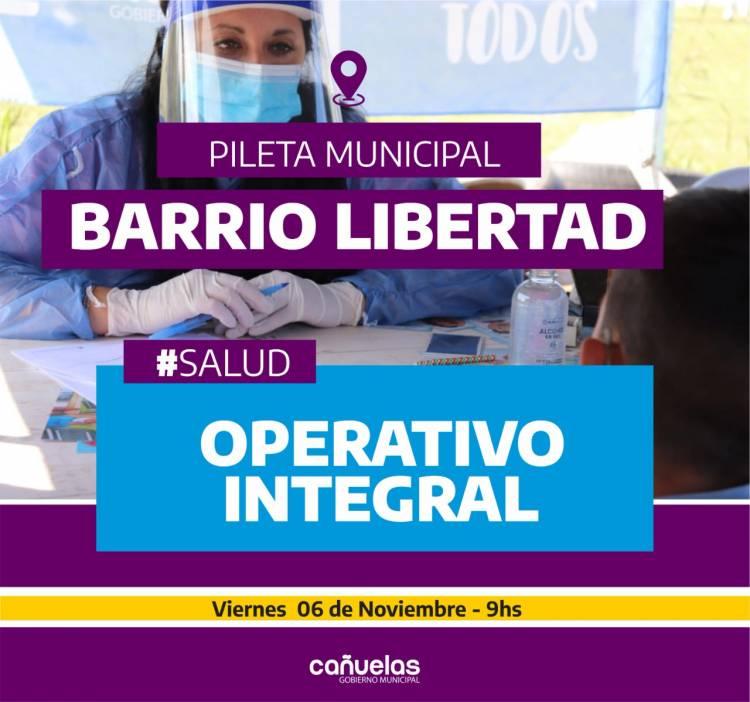 Operativo integral de salud en el Barrio Libertad