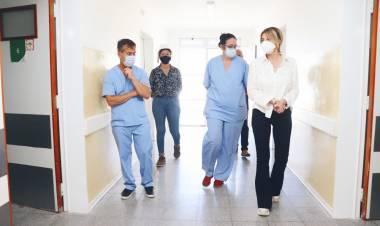 COVID-19: se reestructuró y equipó el área de aislamiento para pacientes del Hospital Marzetti