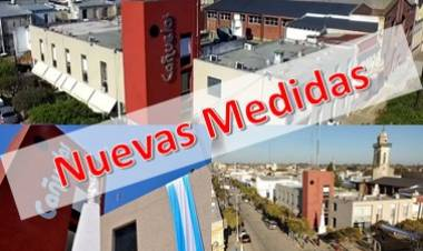 Toman nuevas medidas restrictivas a nivel provincial y local
