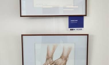 Se inauguró una muestra de arte en el Hospital Regional Cuenca Alta Néstor Kirchner