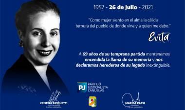 Homenaje del Partido Justicialista de Cañuelas