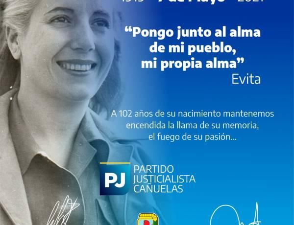 Evita 1919-2021