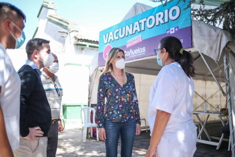La intendenta Marisa Fassi visitó el Hospital Marzetti