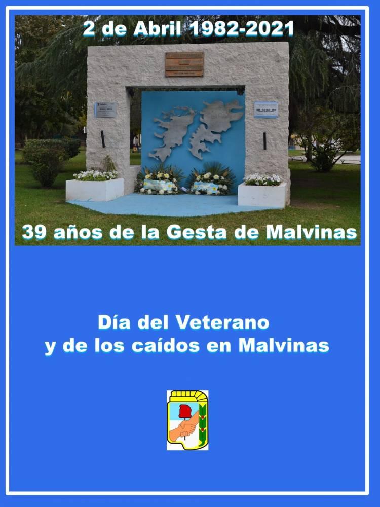 39 años de la Gesta de Malvinas