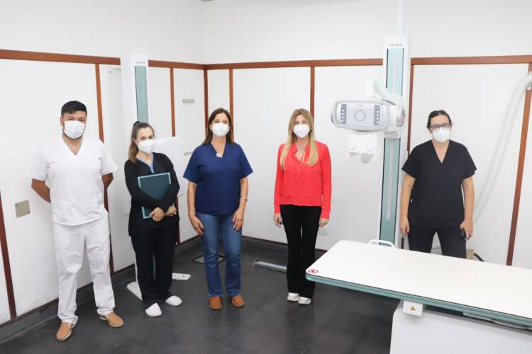 Nuevo equipo de rayos en el Hospital Ángel Marzetti