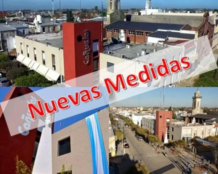 El municipio adhiere a las disposiciones nacionales y provinciales