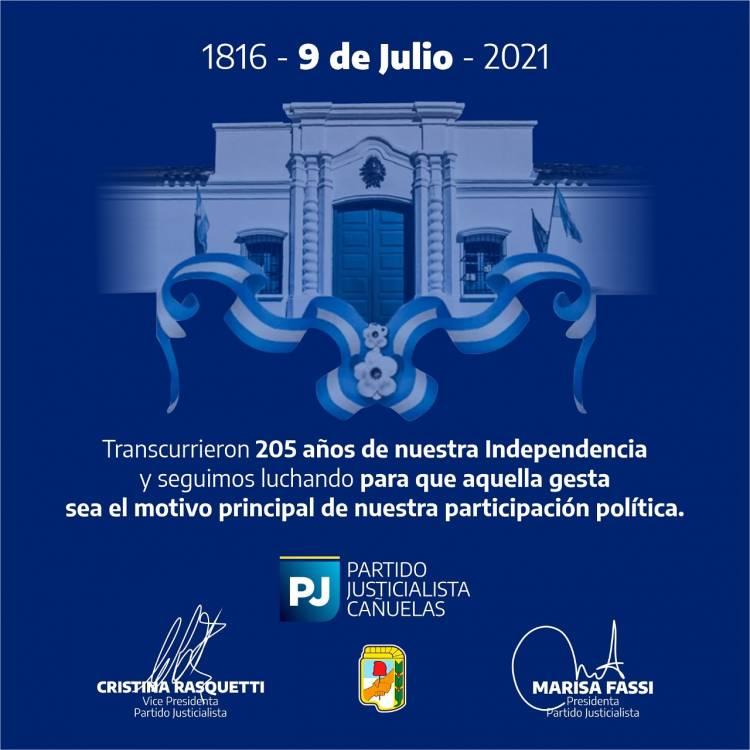 9 de Julio - Día de la Independencia - Homenaje del PJ